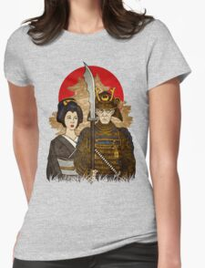 Samurai's Daughter Womens Fitted T-Shirt