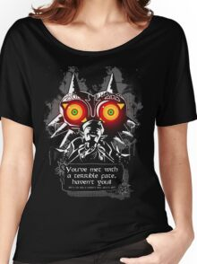 Majoras Mask - Meeting With a Terrible Fate Women's Relaxed Fit T-Shirt