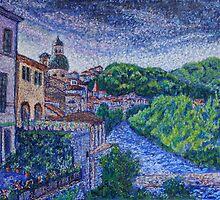 Pontremoli - Italy by Kathie Nichols
