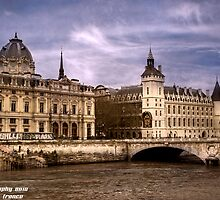 Conciergerie Paris France by Casey Peel
