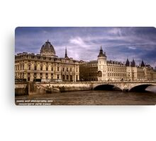 Conciergerie Paris France Canvas Print