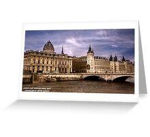Conciergerie Paris France Greeting Card
