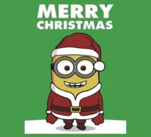 Minion Santa by giolivan