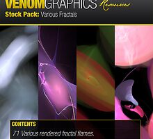 VENOMGRAPHICS: Fractal Stock Pack by James Headrick