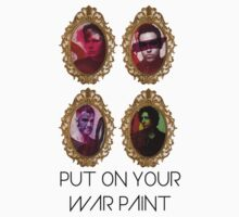 Put on ur war paint! by ohgenny