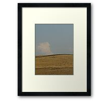 Home on the Range in Wyoming Framed Print