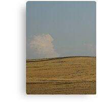 Home on the Range in Wyoming Canvas Print