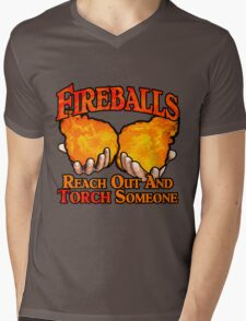 Reach Out And Torch Someone Mens V-Neck T-Shirt