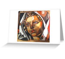 copy of work by de lempicka Greeting Card