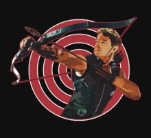 Clint Barton the Bow Master by threesecond