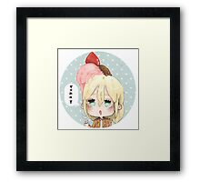 Yummy Kurista Framed Print