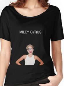 Miley Cyrus Shirt #1 Women's Relaxed Fit T-Shirt