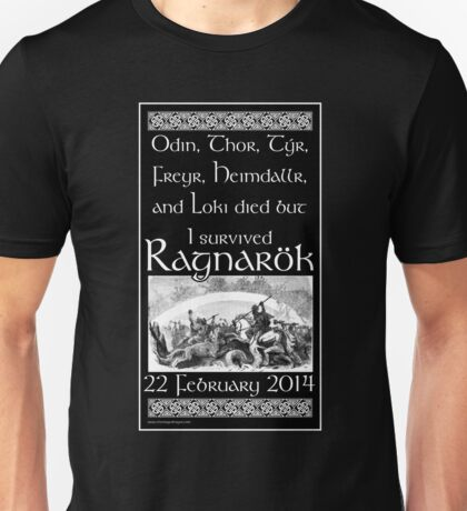 I survived Ragnarök Unisex T-Shirt