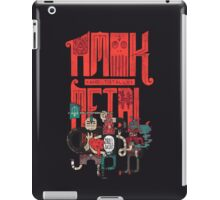 Amok and Totally Metal iPad Case/Skin