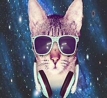 Dj kat in space. by Hear7