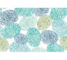 Fingerprints pattern Photographic Print