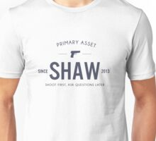 Person of Interest - Shaw Unisex T-Shirt
