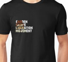 Garden Gnome Liberation Movement (Gandalfschmirtz) Unisex T-Shirt
