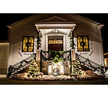 St. Joseph's At Christmas Front Photographic Print