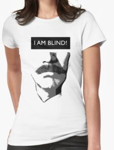 Anchorman 2: I Am Blind Womens Fitted T-Shirt