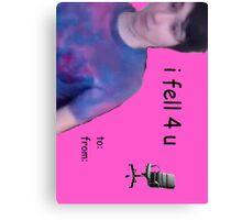 Danisnotonfire/Dan Howell Greeting Card/Prints/Stickers Canvas Print