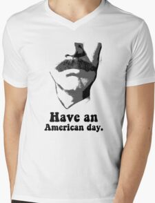 Anchorman 2: Have An American Day Mens V-Neck T-Shirt