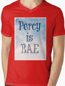 Percy is BAE Mens V-Neck T-Shirt