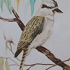 Kookaburra Sits in the Old Gum Tree by Wendy Sinclair