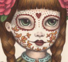 The Little Sister - Sugarskull sisters Sticker