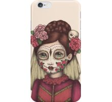 Lace & Rose - Sugarskull sister iPhone Case/Skin