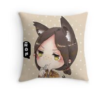 Yummy Yumiru Throw Pillow