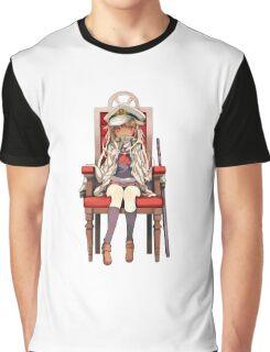 Little Yuudachi as Admiral Graphic T-Shirt