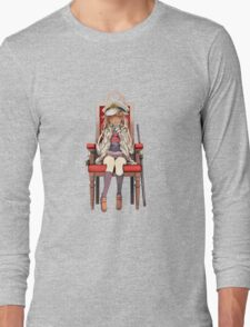 Little Yuudachi as Admiral Long Sleeve T-Shirt