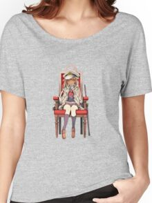 Little Yuudachi as Admiral Women's Relaxed Fit T-Shirt