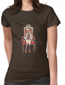 Little Yuudachi as Admiral Womens Fitted T-Shirt