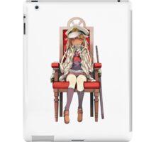 Little Yuudachi as Admiral iPad Case/Skin