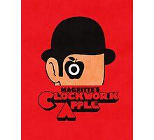 Magritte's Clockwork Apple Photographic Print