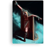 Spooky Mage Canvas Print