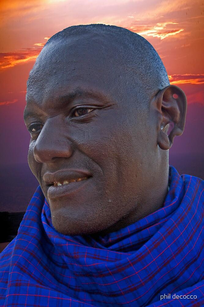 Masai Porter by phil decocco