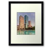 Houston Skyscrapers Framed Print