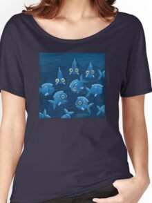 Speaking under water - acrylic Women's Relaxed Fit T-Shirt