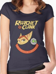 Ratchet & Clank Women's Fitted Scoop T-Shirt