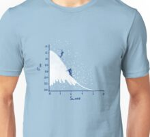 Skiing is fun Unisex T-Shirt
