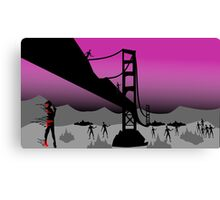 end of the world  Canvas Print
