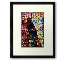 Dalek - Exterminate! by Mark Compton Framed Print