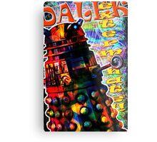Dalek - Exterminate! by Mark Compton Metal Print