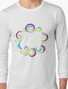 Whimsically Wibbly Wobbly Timey Wimey - Dark Shirt The Second Long Sleeve T-Shirt