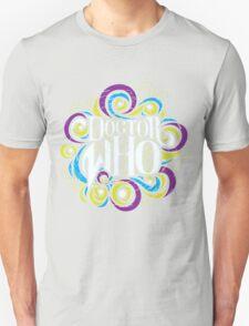 Whimsically Wibbly Wobbly Timey Wimey - Dark Shirt The Second Unisex T-Shirt