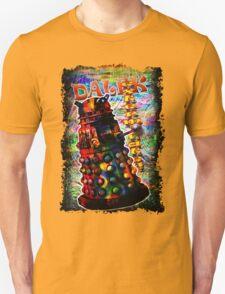 Dalek - Exterminate! by Mark Compton Unisex T-Shirt