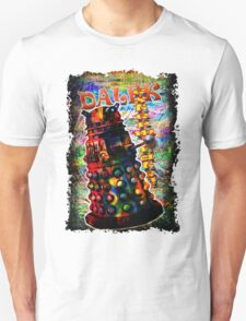 Dalek - Exterminate! by Mark Compton T-Shirt